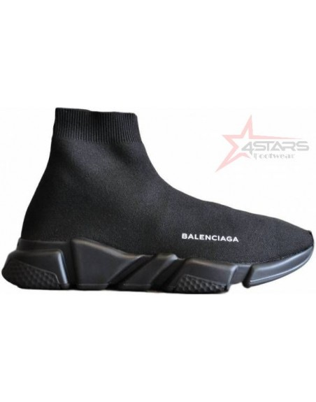 Balenciaga Speed Trainer Sneakers - Black