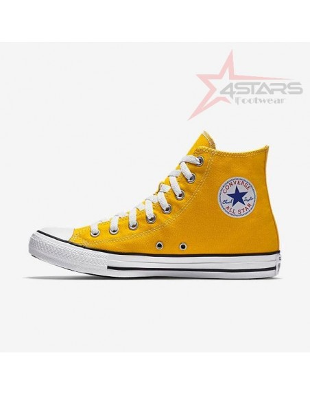 Converse All Star High Top - Yellow