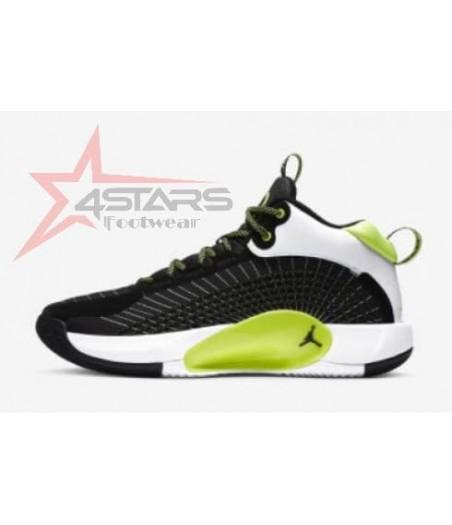 Air Jordan Jumpman 2021 PF BasketBall Shoe - Black Electric Green White