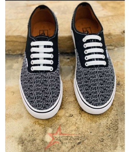 Vans x Fucking Awesome - Black and White