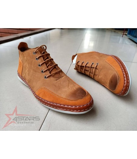 Timberland Soft Leather Boots - Brown