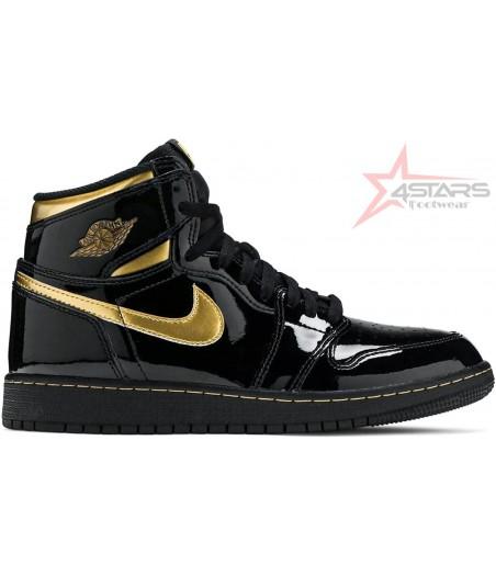 Air Jordan 1 Retro High Metallic Gold