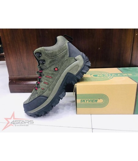Skyview Hiking Boots - Green