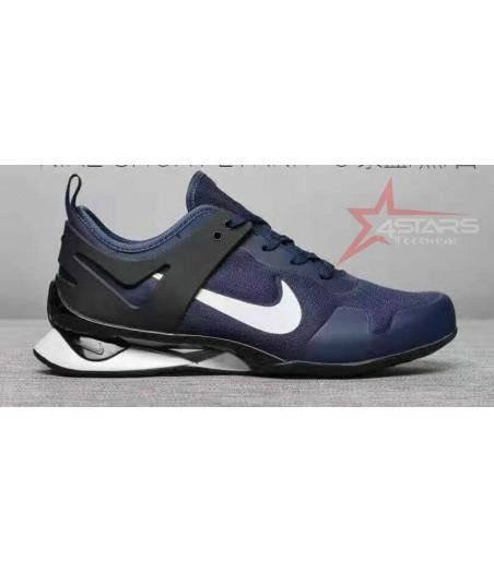 Nike Shox Flyknit - Navy