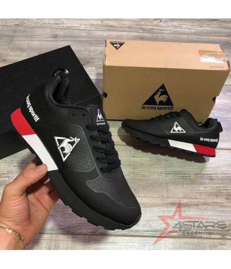 Le Coq Sportif Sneakers Black and White