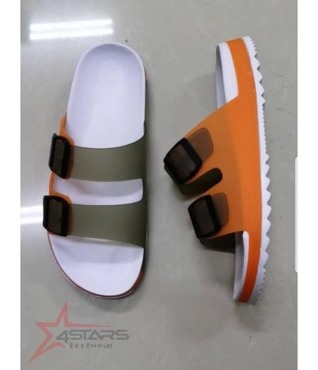 Open Shoes for Men - Orange