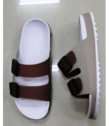Open Shoes for Men - Brown