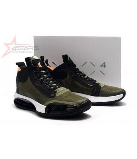 Air Jordan 34 'Army Green'