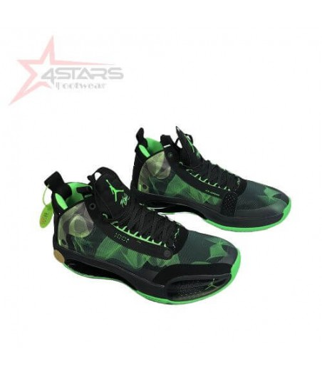 Air Jordan 34 'Black Green'
