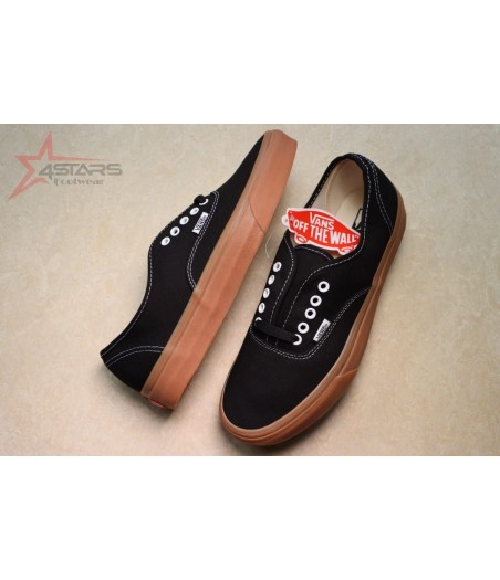 Classic Vans Off the Wall with Brown Sole