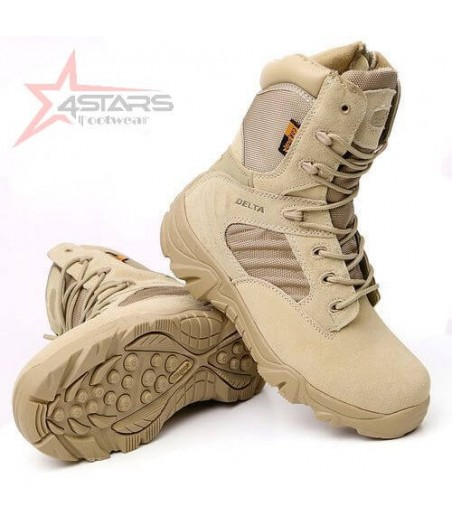 Delta Military Desert Boots - Brown