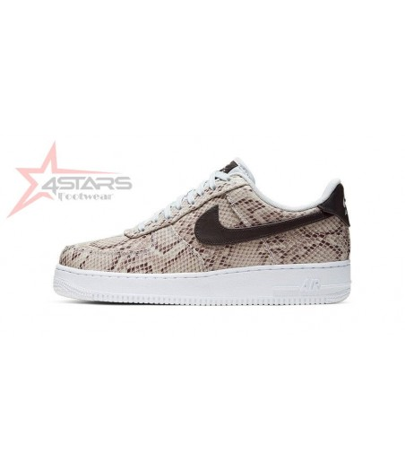 "Nike Airforce 1 Custom Low ""Snake Skin"""