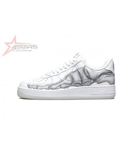 Nike Airforce 1 Skeleton White 'Glow in the Dark'