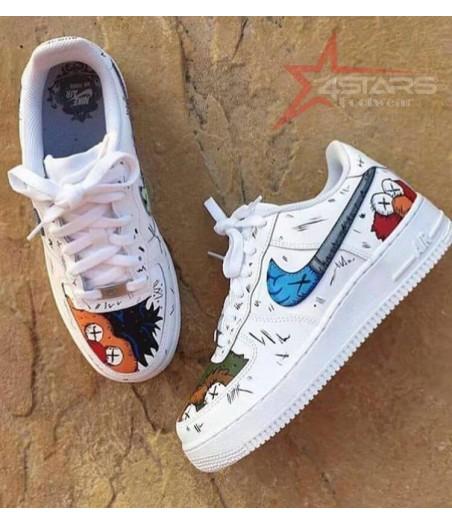 Nike Airforce 1 Custom Kaws Sesame Street