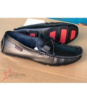 Black Clarks Loafers
