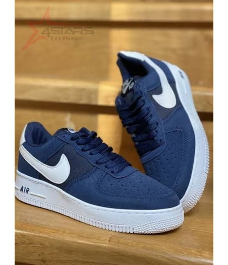 Nike Airforce 1 Suede Blue