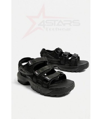 Fila Disruptor Sandals - Black