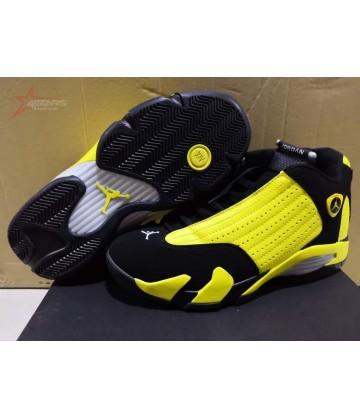 Air Jordan 14 Black Yellow