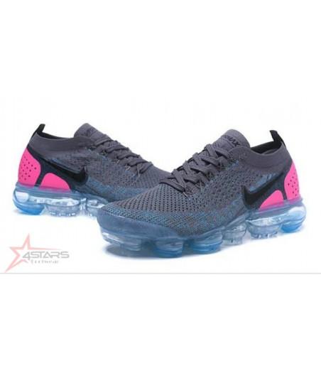 Nike Vapormax Flyknit 2 - Grey Blue Pink