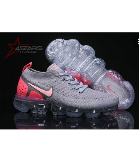 Nike Vapormax Flyknit 2 - Grey and Pink
