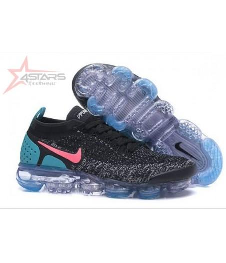 Nike Vapormax Flyknit 2 - Black Blue Pink Purple