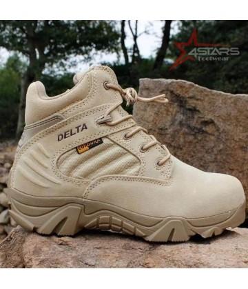 Delta Low Cut Military Boots