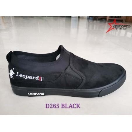 Beauty Leopard Rubber Shoes (D265)