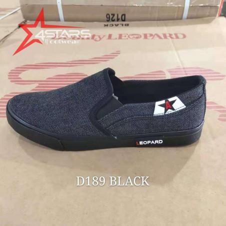 Beauty Leopard Rubber Shoes (D189)