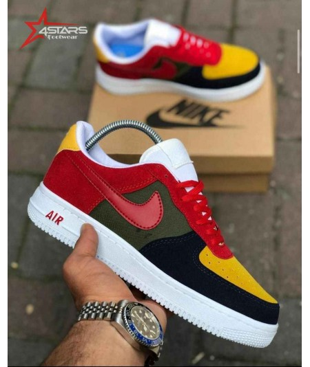 Nike Airforce 1 Suede - Multicolor