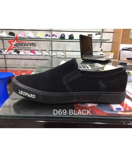 Beauty Leopard Rubber Shoes (D69)