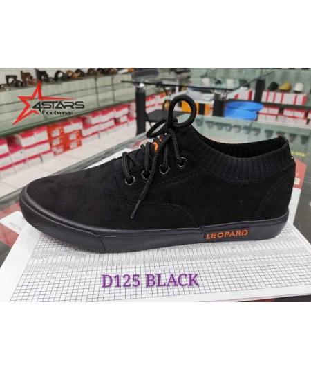 Beauty Leopard Rubber Shoes (D125)