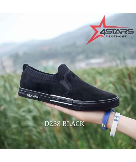 Beauty Leopard Rubber Shoes - D238