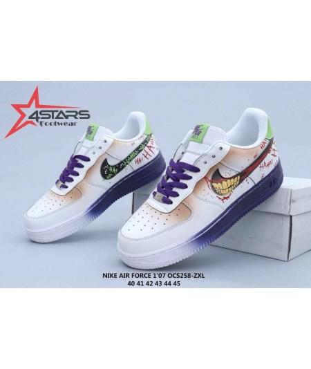 "Nike Airforce 1'07 Low Custom ""Joker"""
