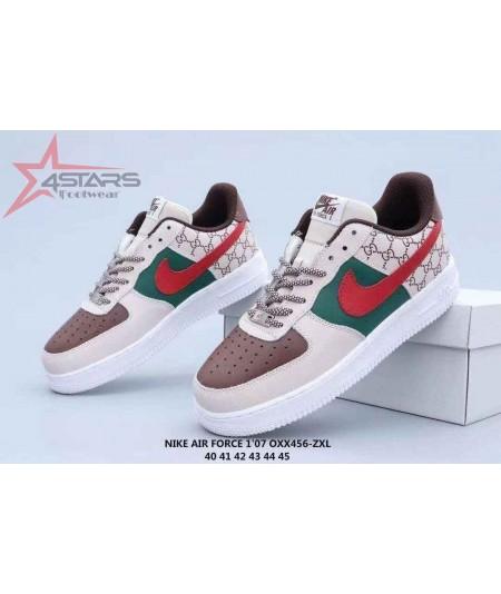 "Nike Airforce 1 Low Custom ""Gucci"""