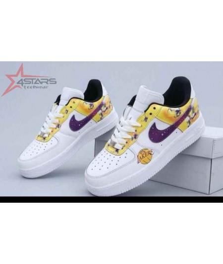 "Nike Airforce 1 Low Custom ""Lakers"""