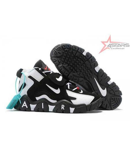 """Nike Air Barrage Mid """"Black and White"""""""