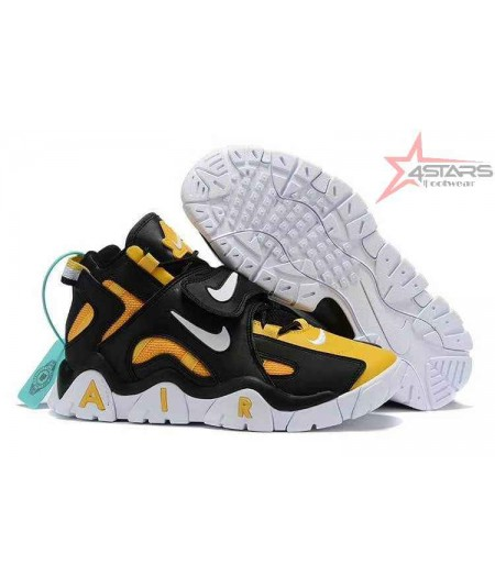 """Nike Air Barrage Mid """"Black, White and Yellow"""""""