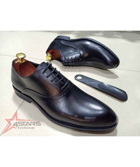 Laced Mens Official Leather Shoes