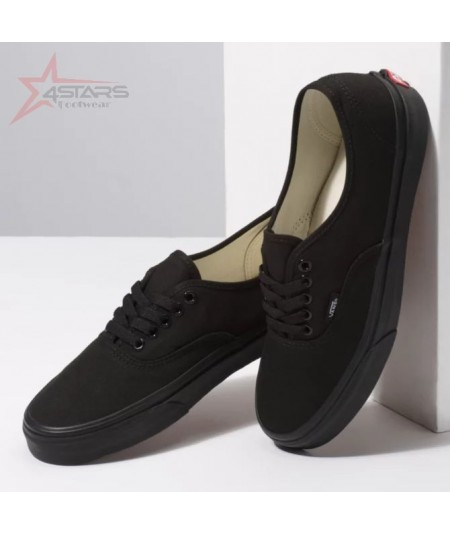 Black Classic Vans with Double Sole