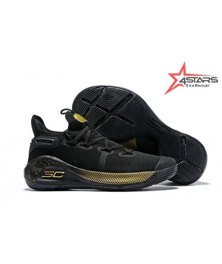 """Under Armour Curry 6 """"Black n Gold"""""""