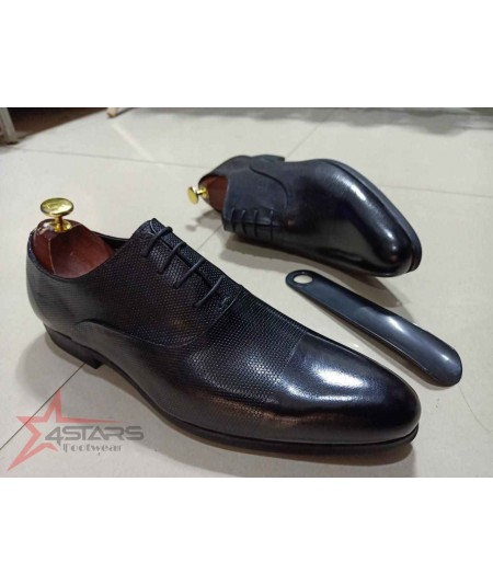 Laced Up Formal Men's Leather Shoes
