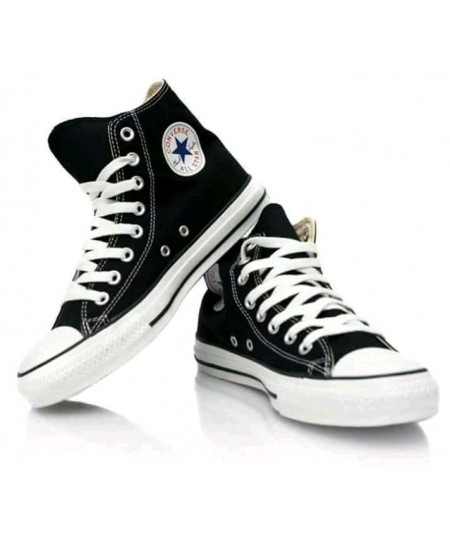 Converse All Star High Top Sneaker- Black and White