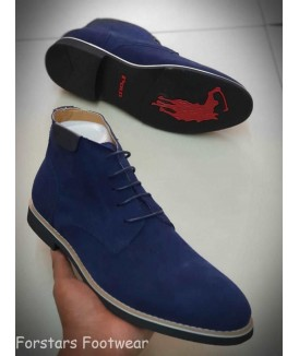 Polo Suede Leather Chelsea...