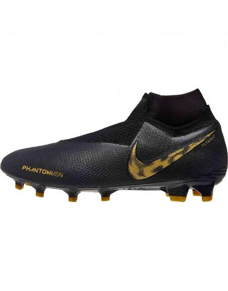 Nike Phantom Vision Elite FG Soccer Boots - Black Lux