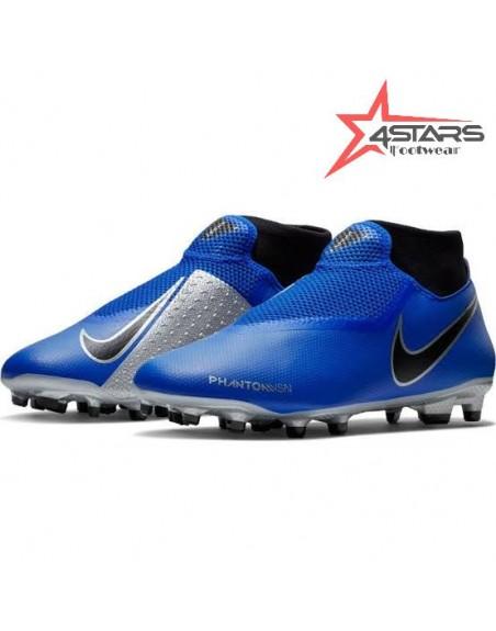Nike Phantom Vision Elite Soccer Boots - Blue/Silver