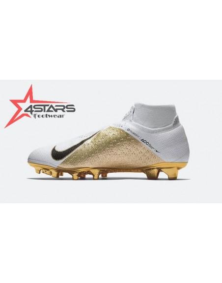Nike Phantom Vision Elite Dynamic Fit Soccer Boots - Gold