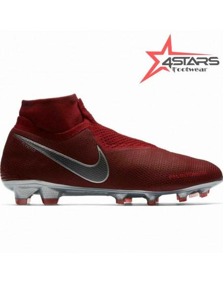 Nike Phantom Vision Elite Dynamic Fit Soccer Boots - Maroon