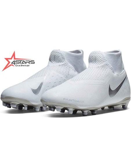 Nike Phantom Vision Elite Dynamic Fit Football Boots - White
