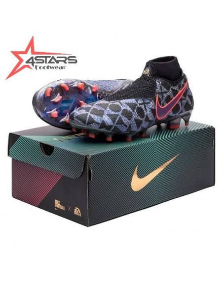 Nike Phantom Vision Elite Dynamic Fit Soccer Boots - Blue Purple Crimson
