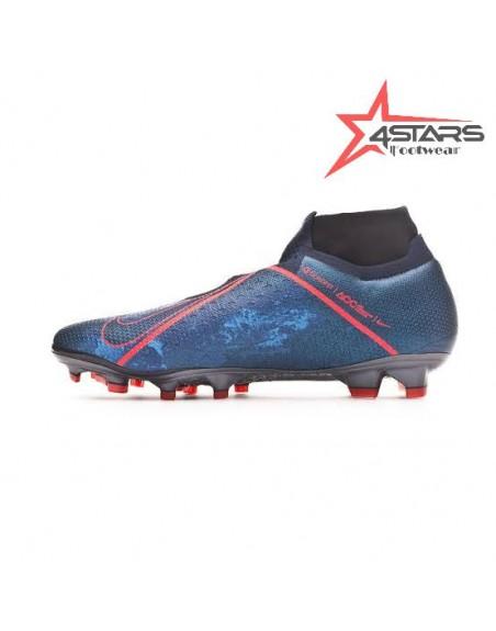 Nike Phantom VSN Elite DF FG - Obsidian/Blue/Black Void